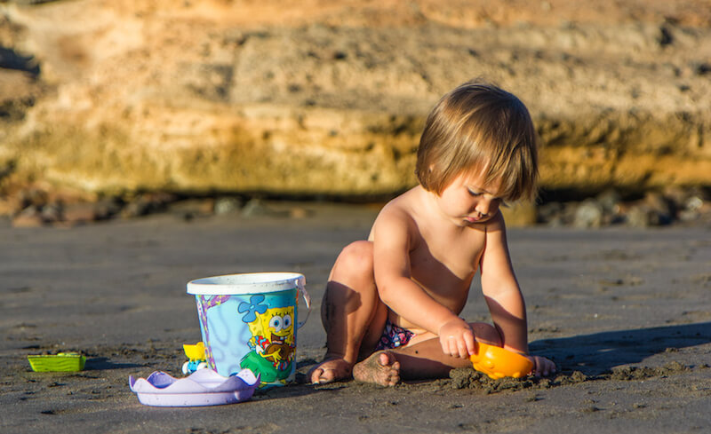пляжи тенерифе для отдыха с детьми